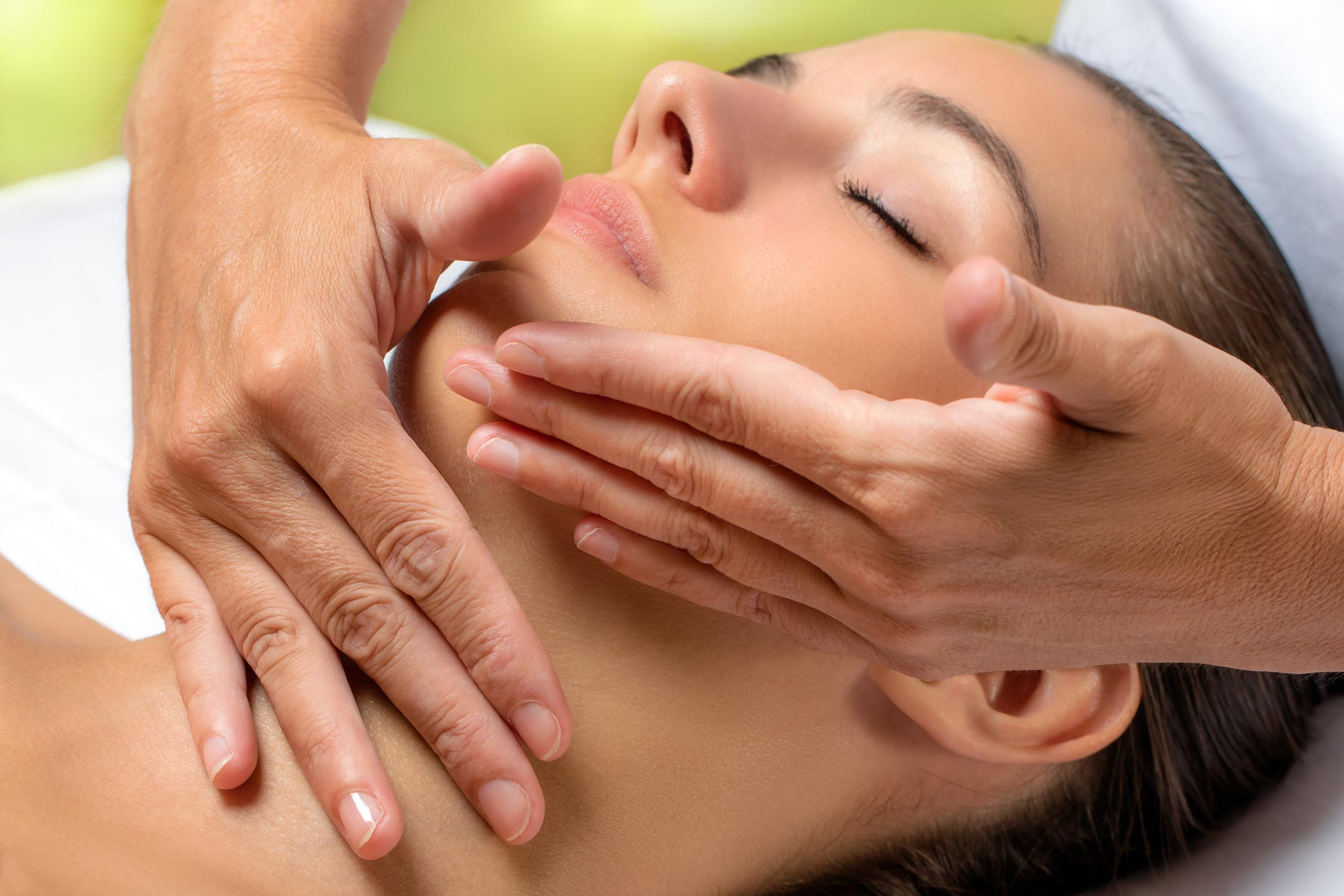 Massages visage