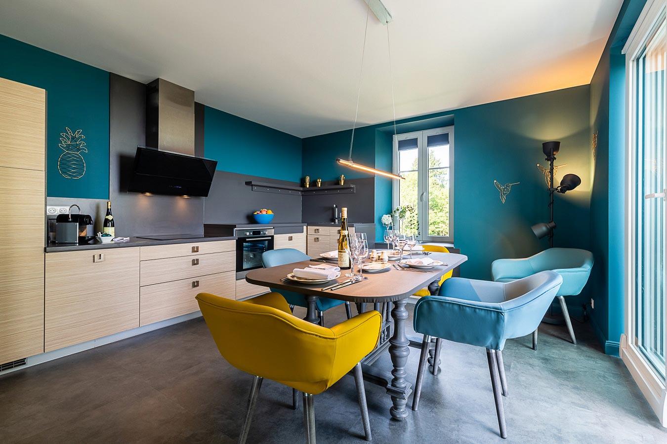 Azur Lodgings : the kitchen